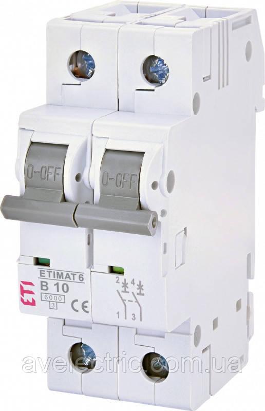 Автоматический выключатель ETIMAT 6 2p B 1 ETI, 2113509