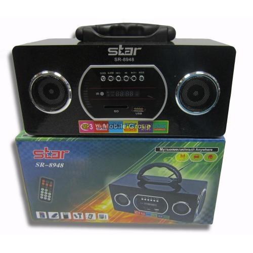 Портативные MP3 колонки от USB SD карт Star 8948