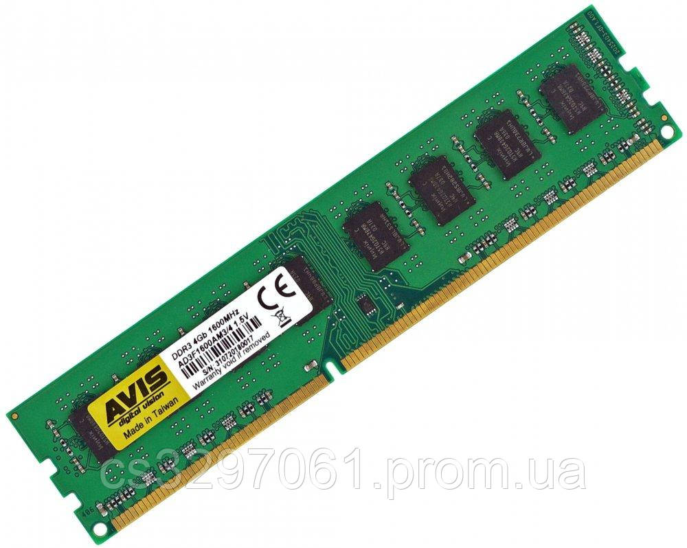 Модуль памяти DDR3 PC3-1600 4Gb