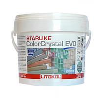 Затирочная смесь Litokol Starlike ColorCrystal EVO CCEVOGSL02.5 800 Серый 2,5 кг