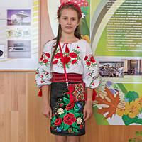 Повний український образ на 1 вересня для Еліни від МальваОпт!