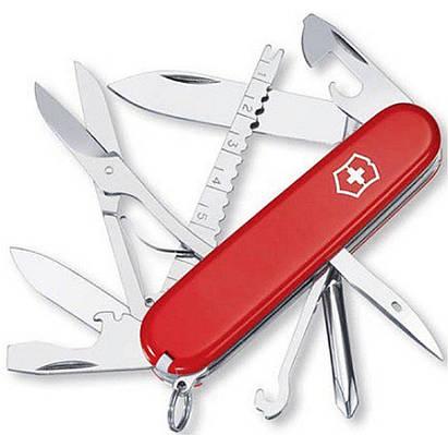 Популярный швейцарский складной нож Victorinox Fisherman 14733 красный