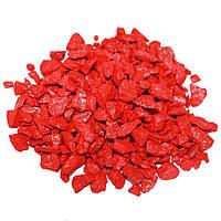Декоративный щебень ZRостай 20 кг красный (DK20RED)