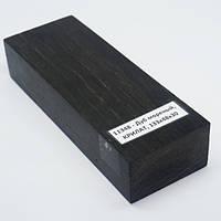 Стабилизированная древесина брусок Дуб мореный КРИЛАТ 133х48х30
