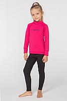 Детское спортивное утепленное термобелье Radical Double 128-134 см Черно-розовое + балаклава r051, КОД: 1191852