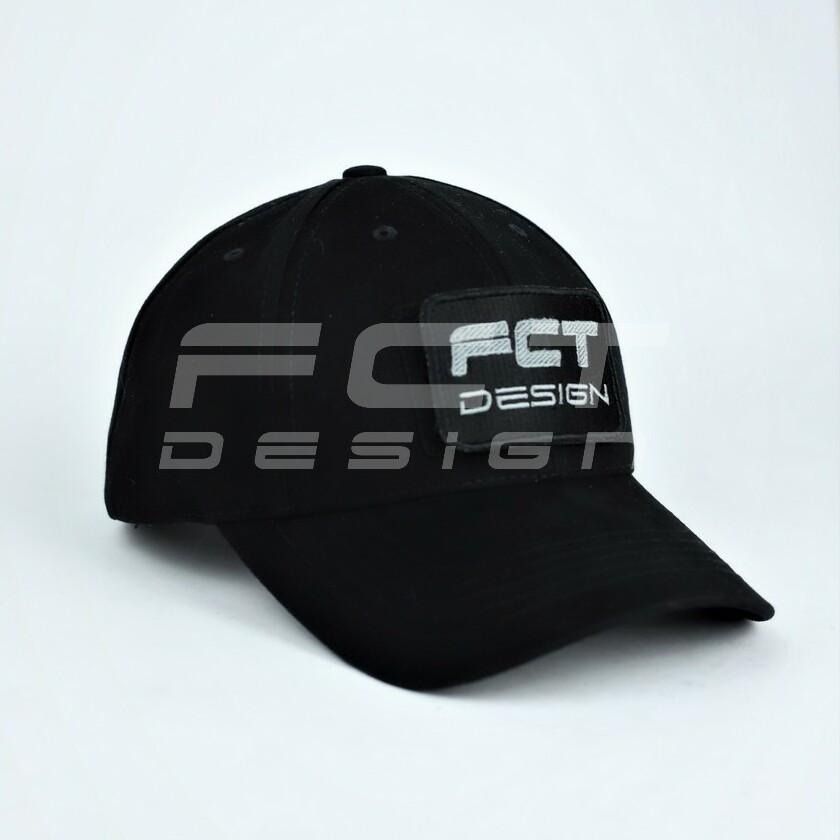 Кепка бейсболка милитари FCT черная