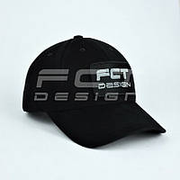 Кепка бейсболка милитари FCT черная, фото 1