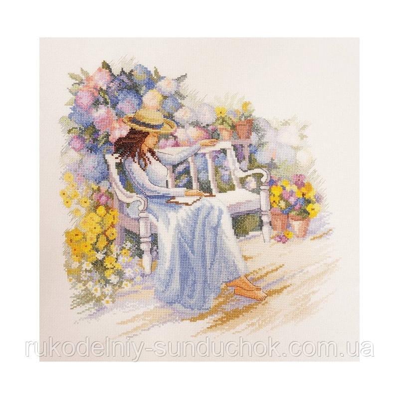 Набір для вишивання хрестом ТМ Мар'я Майстриня 08.004.02 Квітучий сад