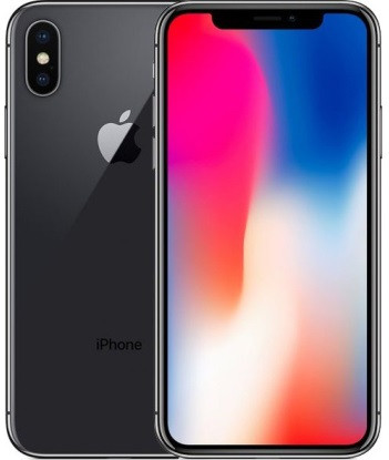 Смартфон Apple iPhone X 256Gb Space Gray, Гарантия 12 мес. Refurbished