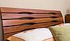 Кровать двухспальная из массива- Мария люкс, с выдвижными ящиками, фото 6