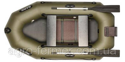 Двухместная надувная гребная лодка Bark-230ND