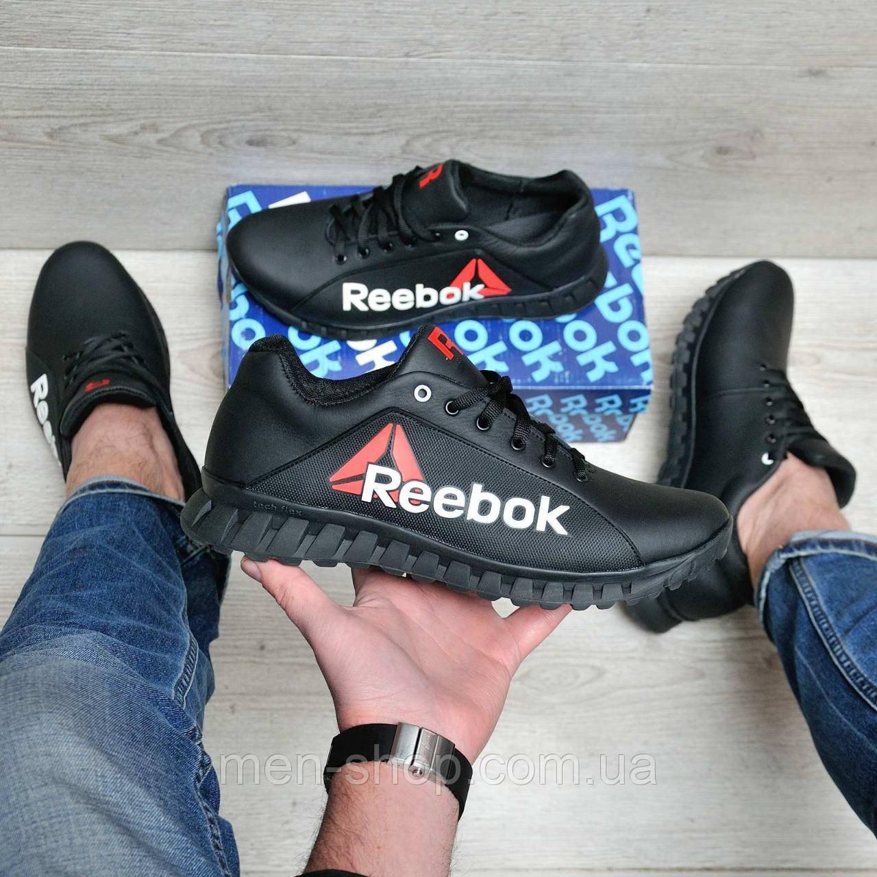 Кроссовки мужские в стиле Reebok черные