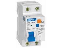 Диференційний автоматичний вимикач NXBLE-63Y 1P+N 4.5kA 0.03A C40A