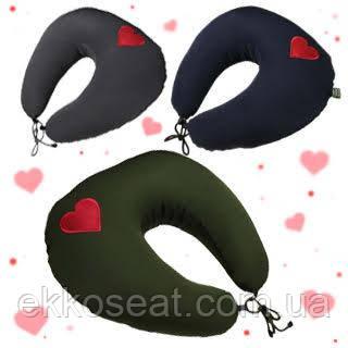 Оригінальний подарунок чоловікові, чоловікові, дівчині, дружині. Подушка для подорожей EKKOSEAT. Ніжність.