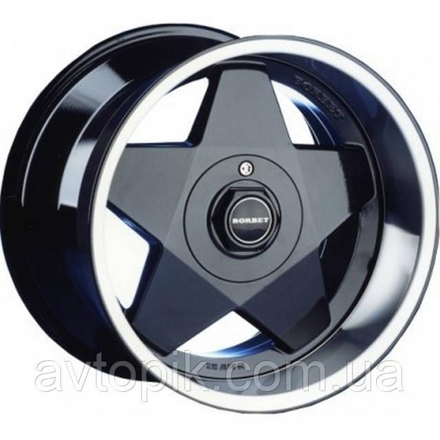 Литі диски Borbet BY R20 W9 PCD5x112 ET25 DIA66.6 (sterling silver)