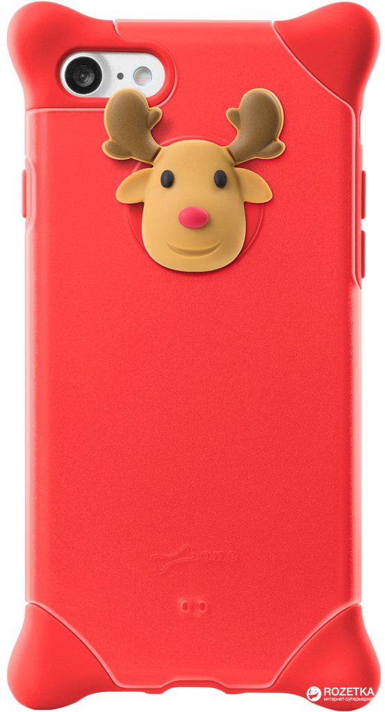 Чохол Bubble для Apple iPhone 7 Red Deer