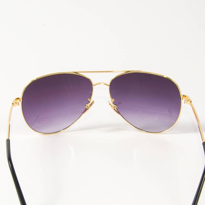 Оптом солнцезащитные очки авиаторы (арт. B80-05/5) фиолетовые, фото 2
