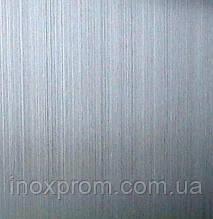 Нержавеющий лист 0,8x1250x2500 AISI 201 4N+laser pvc