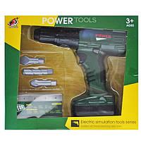 Дриль іграшкова на батарейках в коробці 0223-11 р.25,8*22,5*6см.