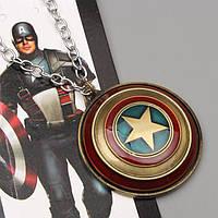 Кулон  Щит Капитана Америки