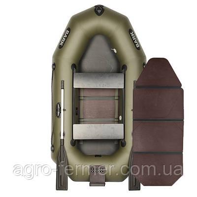 Двухместная надувная гребная лодка Bark-240 книжка