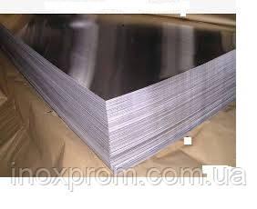Нержавіючий лист 2,0x1250x2500 AISI 201 2B