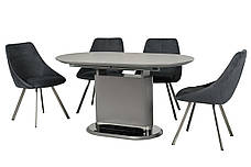 Стол обеденный TMM-56 матовый серый, фото 3