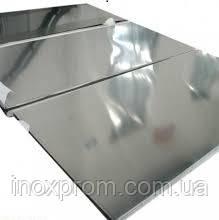Нержавеющий лист 0,8x1000x2000 AISI 304 2B