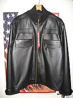Куртка alpha industries detriot jacket кожа