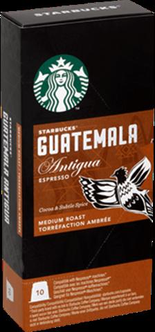 Кофе в капсулах Starbucks Nespresso Guatemala Antigua Espresso 10 шт