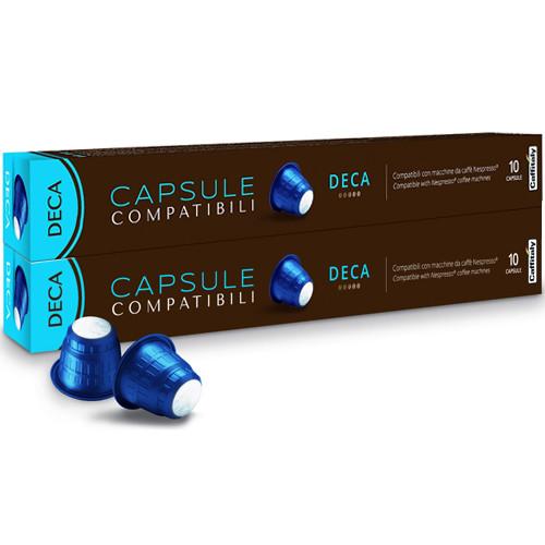Кофе в капсулах Caffitaly Deca Nespresso - 20 шт