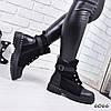 Ботинки женские Brondi черные 6066 ЗИМА