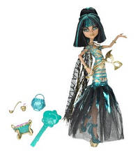 Кукла Monster High Ghouls Rule Cleo De Nile Doll, Клео де Нил Маскарад