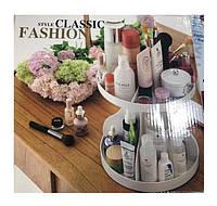 Подставка, органайзер для косметики круглая Style Classic Fashion, маникюрный набор,  Kds набор маникюрный,  органайзер для косметики, , фото 1