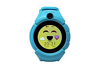 Смарт Часы детские Q610S Голубой, Смарт-часы (Smart Watch), Смарт-годинник (Smart Watch)