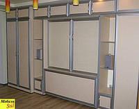 Модульная система для спальни с  вертикальной кроватью-трансформер, фото 1