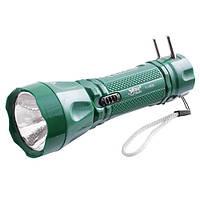 Фонарь Yajia 0928, 1LED, Переносной светодиодный фонарь, переносной аккумуляторный фонарь, LED фонарь