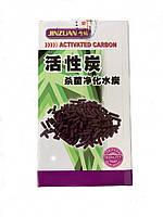 Наполнитель для фильтра в аквариум активированный уголь Minjiang 300 г
