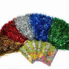 Помпоны для черлидинга разные цвета .
