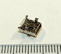 I015 Mini USB Разъем, гнездо питания  8pin для фотоаппарата, gps, mp3