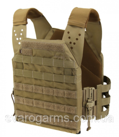 Плитоноска Plate Carrier Perun 2 - 19 RB Coyote