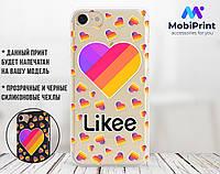 Силиконовый чехол для Apple Iphone 5_5s Likee (Лайк) (4002-3022)