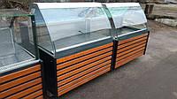Витрины холодильные 1,25 бу. витрина гастрономическая б/у.