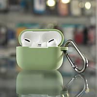 Чехол 2Е Apple AirPods Pro Pure Color Silicone 2.5 Light green (2E-PODSPR-IBPCS-2.5-LGR) EAN/UPC: 681920372493