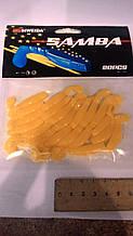Силикон рыболовный Siweida 20шт. ярко желтый
