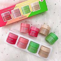 Набор ночных масок для губ LANEIGE Lip Sleeping Mask Mini Kit 4шт х 8гр