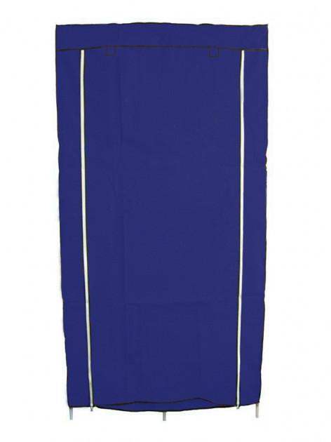 Шкаф тканевый складной для хранения одежды HCX Storage Wardrobe 8890, синий
