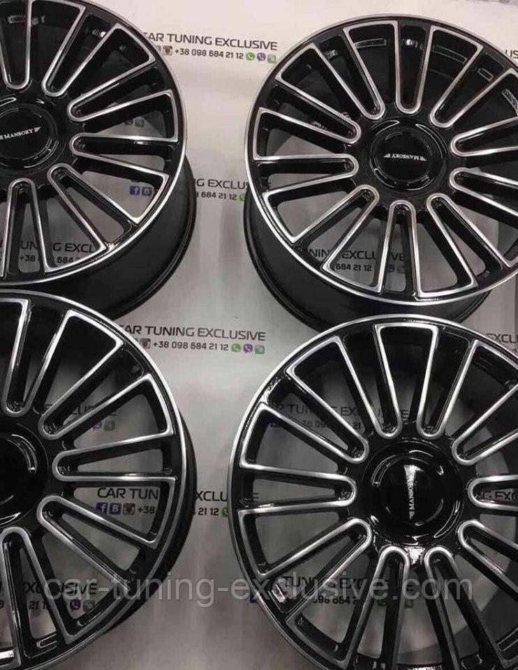 MANSORY rims for Rolls-Royce Cullinan