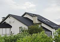 Металлочерепица Grand Гранд 0,45мм матовый полиэстр Италия (Arvedi). Гарантия 15 лет!, фото 6