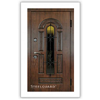 Двери входные с МДФ ПВХ Vinorit Патина Steelguard™ модель Vikont